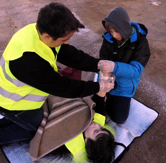 Erste-Hilfe in der Schule