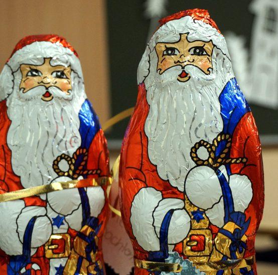 Eine schokoladige Weihnachtsüberraschung