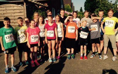 Mit 18 Läufern an den Start