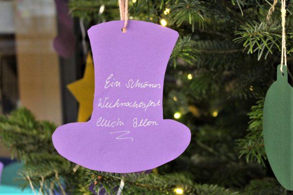 Wunschbäume zur Weihnachtszeit