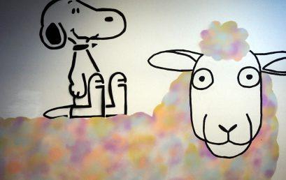 Kreative Graffitikünstler an unserer Schule